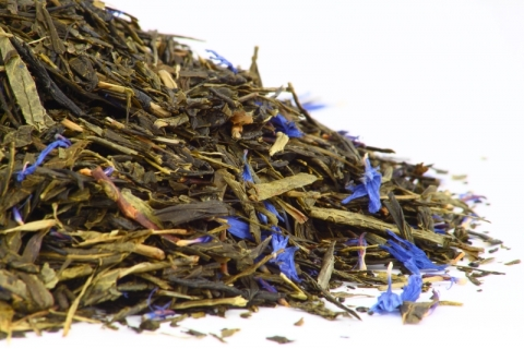 EARL GREY SENCHA BLUE
